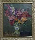 Oil painting Flowers Glushchenko Maria Davidovna