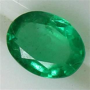 0.59 Cts Natural Emerald