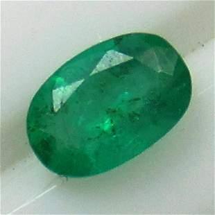 0.55 Cts Natural Emerald