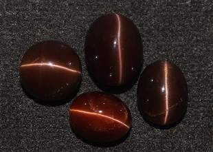 16.74 Cts Natural Scapolite Cat's-Eye Lot