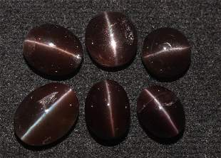 15.51 Cts Natural Scapolite Cat's-Eye Lot