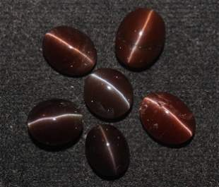15.61 Cts Natural Scapolite Cat's-Eye Lot
