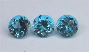 3.30 Cts Natural Blue Topaz Lot