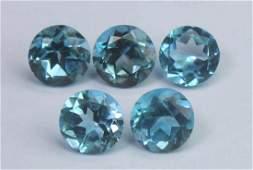 3.19 Cts Natural Blue Topaz Lot