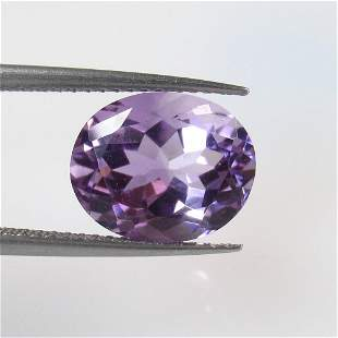 4.01 Ct Natural Purple Amethyst Oval Cut