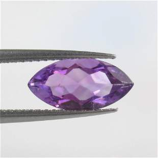 1.48 Ct Natural Purple Amethyst Marquise Cut