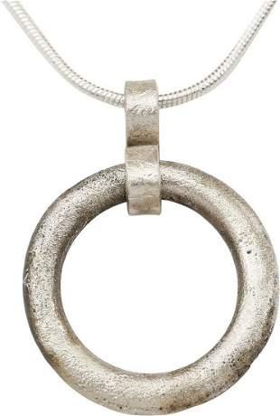 CELTIC PROSPERITY RING NECKLACE C.400-100 BC.