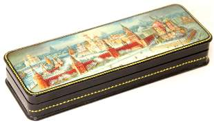Lacquer Box with Moscow Kremlin