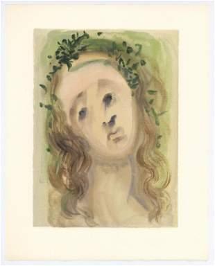 "Salvador Dali Divine Comedy woodblock engraving ""Our"