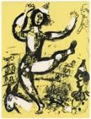 "Marc Chagall original lithograph ""Le Cirque"" (Circus)"