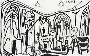 Pablo Picasso lithograph   Carnet Californie