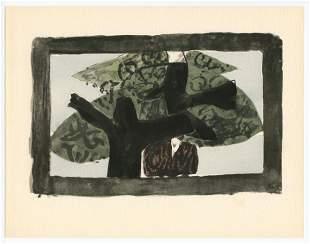 """Georges Braque 1959 pochoir """"L'arbre"""""""