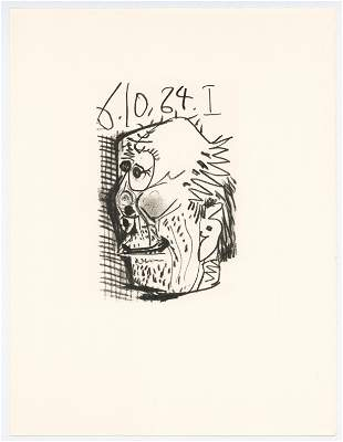 """Pablo Picasso lithograph """"Le Gout du Bonheur"""""""