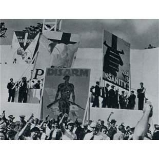 DAVID SEYMOUR - Demonstration, France 1936