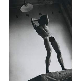 """BRUCE WEBER - Special """"K"""", NYC 1985 - male nude"""