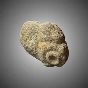 Taino antropomorfic stone figure