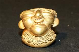 Reproductions of Precolumbian . Pendant depicting human