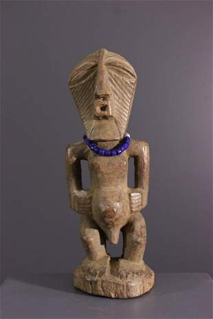 Songye Nkisi wood fetish - DRC Congo - African Art