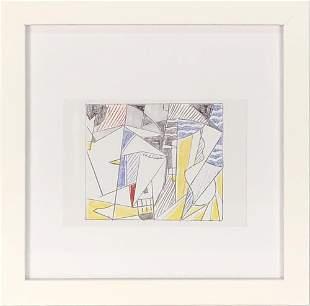 Roy Lichtenstein - Sailboats