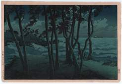 Kawase Hasui: Hinomizaki, Izumo (Izumo Hinomisaki )