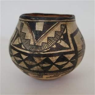 Early Acoma Pueblo pottery jar ca 1890-1900