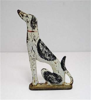 Borzoi Russian Wolfhound Dog Cast Iron Doorstop