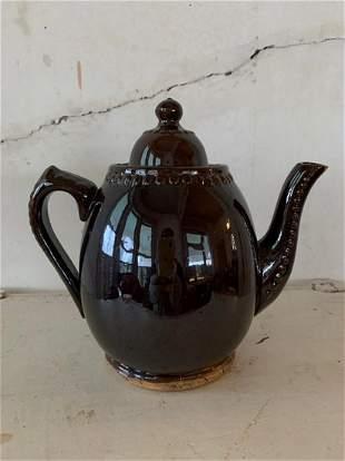 Bennington Pottery Teapot with Orig. Lid