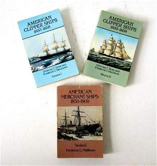 ANTIQUE SHIPS REFERENCE BOOKS