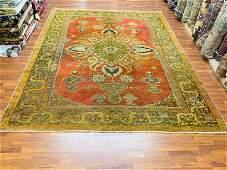Antique Persian Sultanabd Mahal Rug-2661