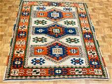 Vintage Kazak Caucasian Design-4715-5