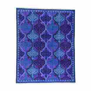 Pure Cotton Agra Mughal Design Vibrant Colors Oriental