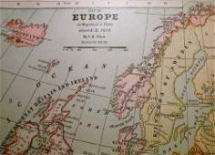 Europe In Napoleon's Time 1897