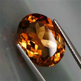 7,68ct Natural Imperial Topaz 7,68 ct