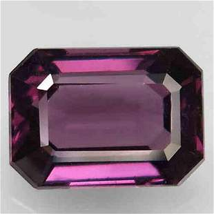 2,42 ct Natural Rich Pink Purple Spinel 2,42 ct