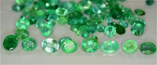 Emerald Gemstones Parcel ~ 38.50 cts - 8*6*4mm