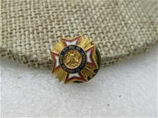 Vintage Enameled Veterans of Foreign Wars of the US