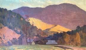 Oil painting Mountain landscape Chernikov Vladimir