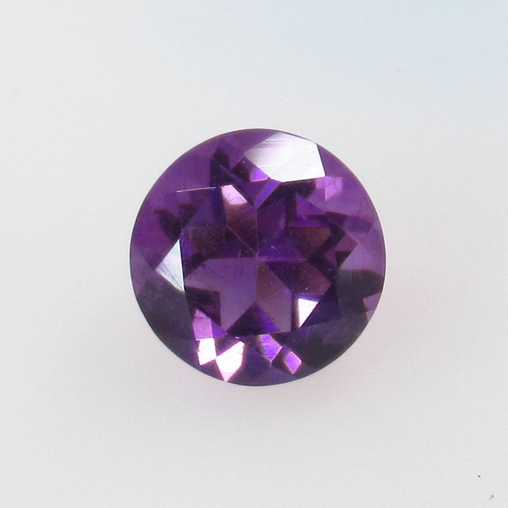 1.90 Ct Natural Purple Amethyst Round Cut
