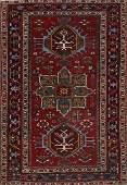 Antique 3x5 Heriz Serapi Persian Area Rug