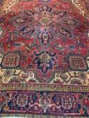 Hand Knotted Persian Heriz 4x7 ft