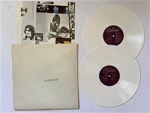 THE BEATLES - WHITE ALBUM - White Vinyl