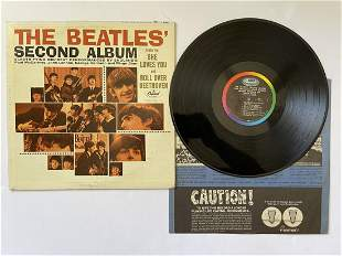 THE BEATLES - SECOND ALBUM