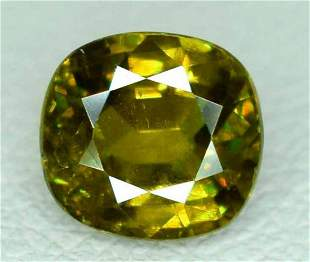 Fire Chrome Sphene Loose Gemstone - 1.15 Carats