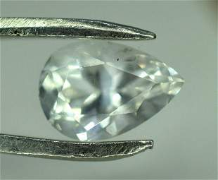 3.35 Carats Top Grade Pear Cut Extremely Rare