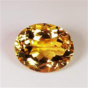 Natural Citrine Oval Cut 5.02 ct