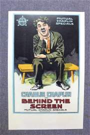 Behind The Screen - Charlie Chaplin (1916) US Window