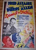 Damsel In Distress - Fred Astaire (1937) US 1 SH Movie