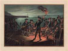 Artillery Retreat from Long Island – 1776