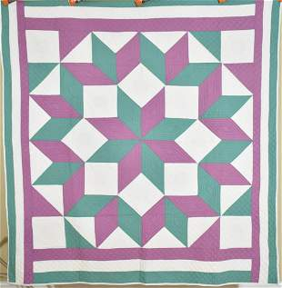 30's Broken Star Quilt, Great Quilting