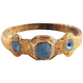 MEDIEVAL LADIES RING 12th-15th C.AD SIZE 10 ¼